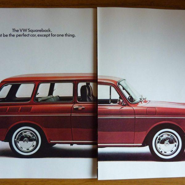 1969 Volkswagen Squareback Sales Brochure