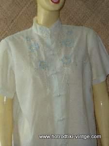 d42b6f08cbcb2 vintage cream ladies embroidered blousecu1   vintage cream ladies embroidered blousecu3   vintage cream ladies embroidered blousecu6 ...
