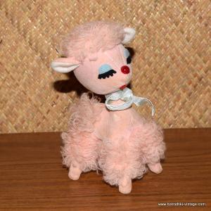 1960's Dream Pets Pink Poodle 1