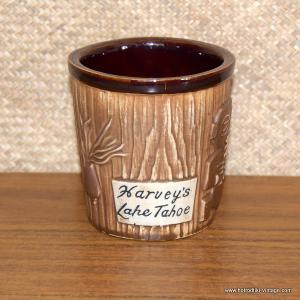 1960's Vintage Harveys Bucket Mug 1