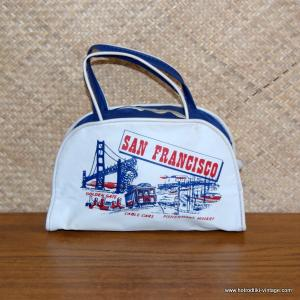 1960's Vintage San Francisco Mini Flight Bag 1