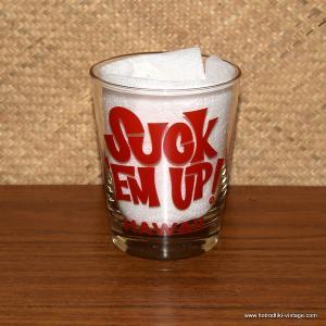 1960's Vintage Suck Em Up Don Ho Glass 1