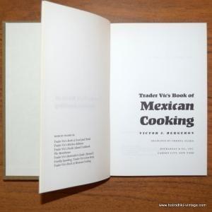 1973 Trader Vics Mexican Cooking Cookbook 4