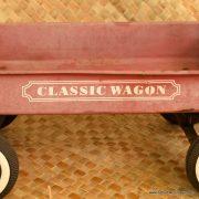 Vintage Classic Wagon Red Metal Wagon 2