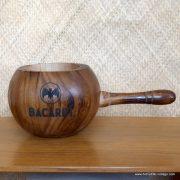 Vintage Style Bacardi Wooden Ice Bucket 1
