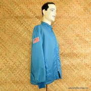 1960's Mens Light Blue Lined Race Jacket 3