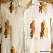 Vintage Mens Rusty Tiki Hawaiian Shirt 2