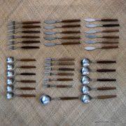 1960's Wallin Brothers Safir Cutlery Set 1