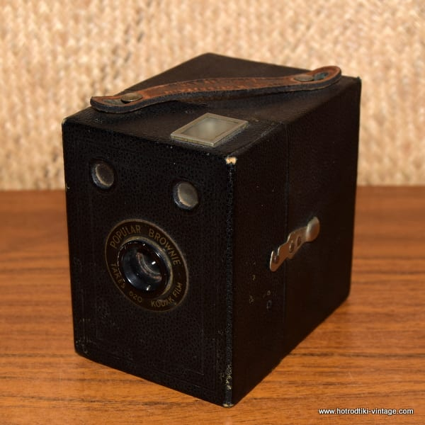 Vintage Kodak Brownie Camera 1