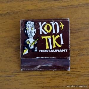 Vintage KonTiki Matchbook 1