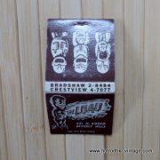Vintage The Luau Matchbook 3