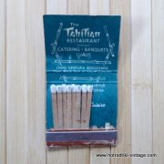 Vintage The Tahitian Matchbook 4