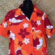 Ladies Vintage Style Hilo Hatties Hawaiian Shirt 2