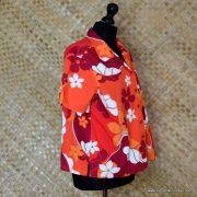 Ladies Vintage Style Hilo Hatties Hawaiian Shirt 4