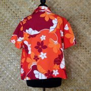 Ladies Vintage Style Hilo Hatties Hawaiian Shirt 6