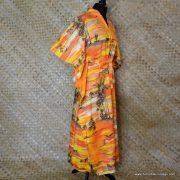 Vintage Ladies Hawaii Full Length Kaftan Dress 3