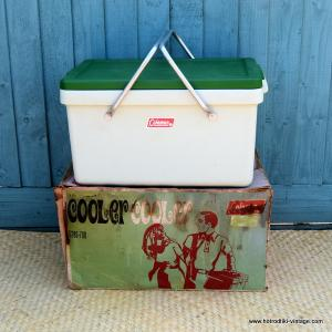 Vintage 1960's American Coleman Cooler Ice Chest 1