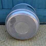 Vintage Featherlite by Poloron American Aluminium Cooler 9