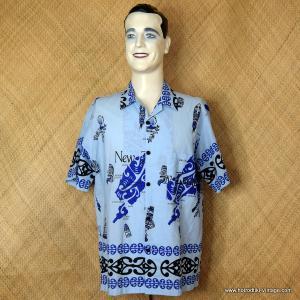 c73e7b715 Vintage Mens Blue New Zealand Shirt 1