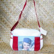 Vintage Style Bikini Mile High Flight Bag 1