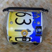 Vintage Style Littleearth Number Plate Bag 5