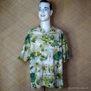 Vintage Style Mens Tommy Bahama Mexican Image Shirt 1
