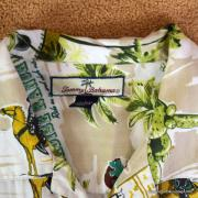 Vintage Style Mens Tommy Bahama Mexican Image Shirt 10