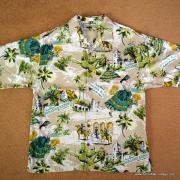 Vintage Style Mens Tommy Bahama Mexican Image Shirt 11