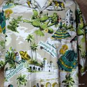 Vintage Style Mens Tommy Bahama Mexican Image Shirt 3