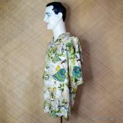 Vintage Style Mens Tommy Bahama Mexican Image Shirt 6