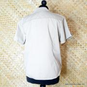 Vintage Style US Army Beige Short Sleeved Shirt 7