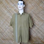 Vintage Style Vans Tan Checked Short Sleeved Shirt 1