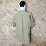 Vintage Style Vans Tan Checked Short Sleeved Shirt 6