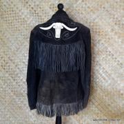 Vintage Suede Tassel Mexican Jacket 7