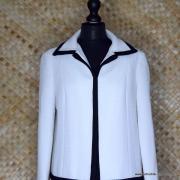 1960's Ladies Lilli Ann Black & White MOD Coat 2