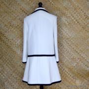 1960's Ladies Lilli Ann Black & White MOD Coat 6