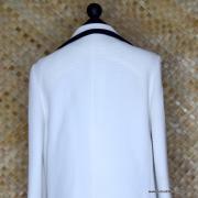 1960's Ladies Lilli Ann Black & White MOD Coat 7