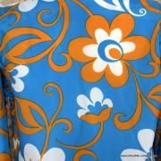 1960's Mens Blue Hawaiian Holiday Shower Proof Jacket 6