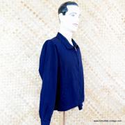 1960's Mens Vintage Dark Blue London Fog Jacket 2