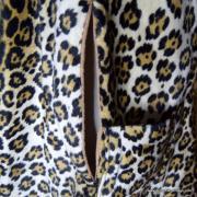 1960's Vintage Ladies Amazing Leopaard Faux Fur Cape 10