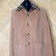1960's Vintage Ladies Amazing Leopaard Faux Fur Cape 18