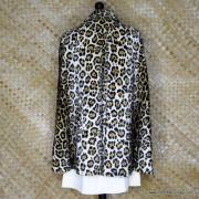 1960's Vintage Ladies Amazing Leopaard Faux Fur Cape 8
