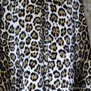 1960's Vintage Ladies Amazing Leopaard Faux Fur Cape 9