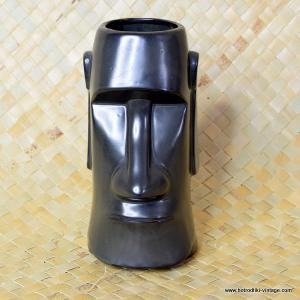 1960's Vintage The Fireside Black Moai Tiki Mug 1