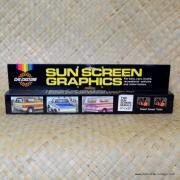 1970's Vintage Calcustom Sun Screen Graphics 1