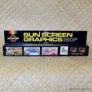 1970's Vintage Calcustom Sun Screen Graphics 3