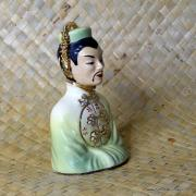 1950's Vintage Oriental Man Figure in Green 2