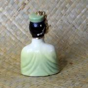 1950's Vintage Oriental Man Figure in Green 4