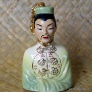 1950's Vintage Oriental Man Figure in Green 7