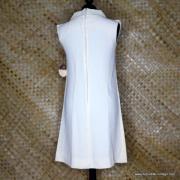 1960's Vintage Ladies R&K Originals Cream NOS Dress 6